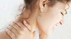 Причины сильной боли в шее