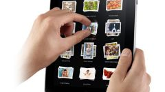 Как включить iPad