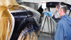Как покрасить крыло и дверь автомобиля