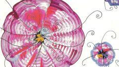 Как нарисовать цветы куском картона