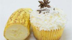 Ванильно-банановые кексы