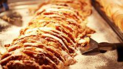 Рецепт немецкого штруделя с колбасой и капустой