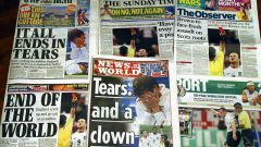 Где купить английские газеты