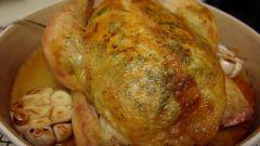 Рецепт приготовления курицы в сметанном соусе