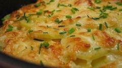 Картофельные рецепты