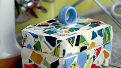 Как сделать мозаичную шкатулку