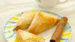 Греческие пирожки со сладким рисом