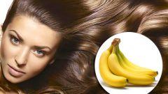 Маски для волос с бананами