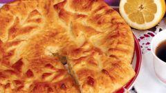Приготовление лимонного пирога