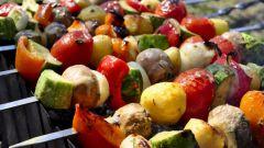 Шашлык из овощей по–армянски