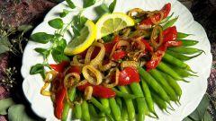 Рецепт приготовления спаржевой фасоли