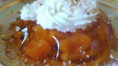 Десерт желейно-творожный