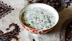 Йогуртовый суп с нутом