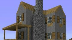 How to build in Minecraft beautiful house