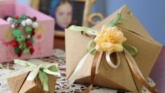 Как сделать подарочную коробочку своими руками