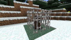 How to make a Minecraft trap for mobs and griffero