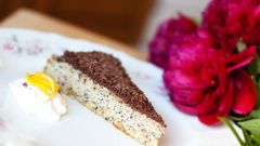 Как приготовить ореховый пирог с маком