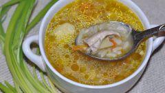 Рассольник рыбный с фрикадельками