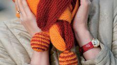 Как связать двухслойный шарф