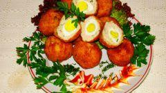 Перепелиные яйца во-фритюре