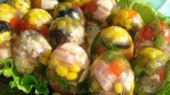 Яйца Фаберже из заливного