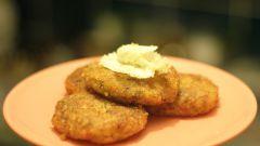 Картофельные котлеты с орехами