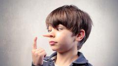 Почему ребенок лжет и как это определить