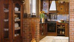 Как обустроить кухню на даче
