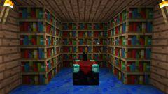 Как пользоваться книгами с зачарованием в Minecraft