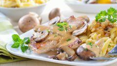 Как правильно приготовить грибы с картошкой