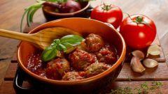 Как приготовить соус для фрикаделек