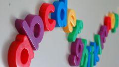 Как ребенку выучить английский алфавит