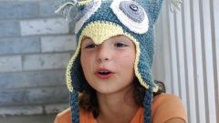Как связать зимнюю шапку для ребенка