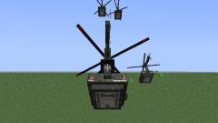 Как сделать вертолет в minecraft