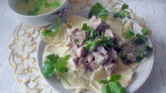Бешбармак по-киргизски