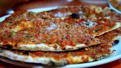 Как приготовить лахмаджун (пицца по-восточному)