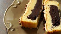 Домашний кекс с йогуртом и какао
