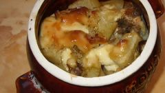 Волшебный горшочек: курочка с изюмом и грецкими орехами