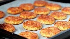 Пикантное печенье с сыром и творогом
