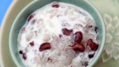 Как приготовить молочный суп с рисом и фасолью