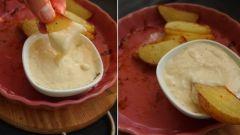 Молочно-сырный соус с мускатным орехом