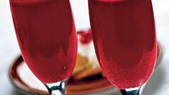 Как приготовить игристый фруктовый коктейль