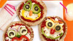 Как приготовить пиццу для детей