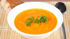 Морковно-апельсиновый суп