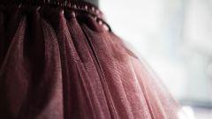 Как сшить длинную пышную юбку из фатина