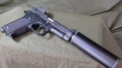 Как устроен глушитель пистолета