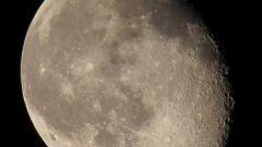 Как сфотографировать луну ночью