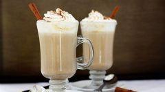 Молочный напиток с белым шоколадом