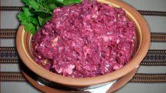 Как приготовить салат со свеклой