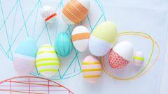 Как задекорировать яйца на Пасху